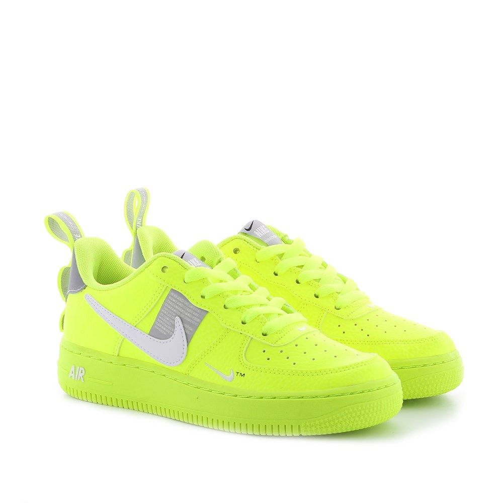 nike air force 1 orange fluo femme