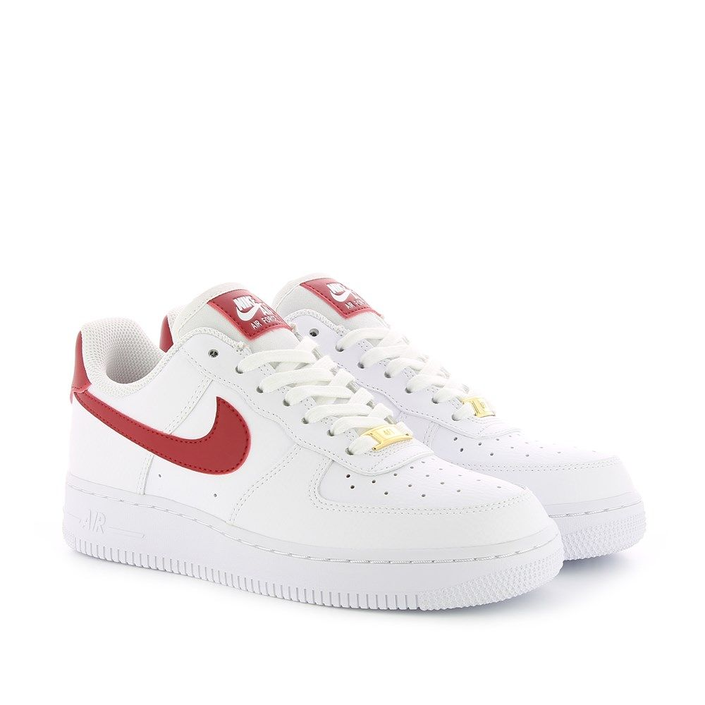 nike air force 1 07 blanc rouge