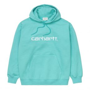 CARHARTT WIP HOODED CARHARTT SWEAT I029419-0AK-90