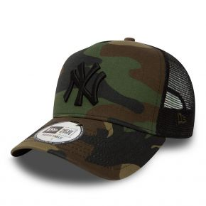 NEW ERA NEW YORK YANKEES CLEAN TRUCKER MI-DROIT CAMO 11579473