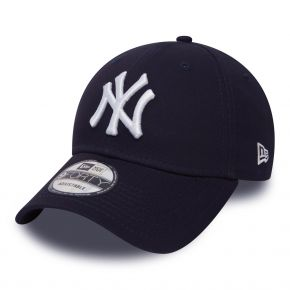 NEW ERA NEW YORK YANKEES LEAGUE BASIC 9FORTY MARINE BLANC 10531939