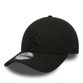 NEW ERA NEW YORK YANKEES LEAGUE ESSENTIAL 9FORTY BLACK ON BLACK 80468932