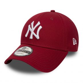 NEW ERA NEW YORK YANKEES LEAGUE ESSENTIAL 9FORTY BURGUNDY 80636012