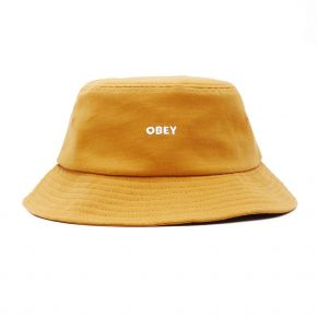 OBEY BOLD CANVAS BUCKET HAT 100520054-GOLD