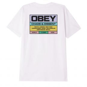 OBEY BUILT TO LAST CLASSIC T-SHIRT 165262520-WHITE