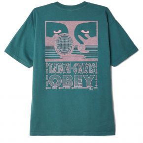 OBEY EARTH CRISIS HEAVYWEIGHT CLASSIC BOX T-SHIRT 166912598-VELVET-PINE