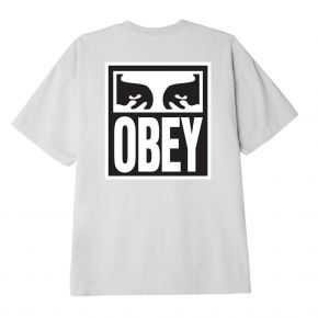 OBEY EYES ICON 2 CLASSIC T-SHIRT 165262142-WHITE