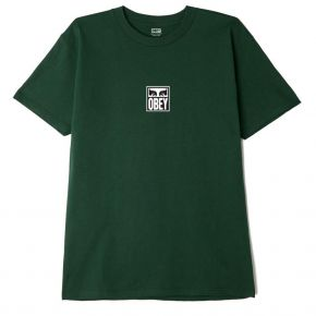 OBEY EYES ICON III CLASSIC T-SHIRT 165262712-FOREST