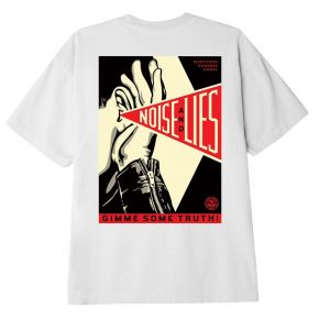 OBEY GIMME SOME TRUTH BASIC T-SHIRT 165262643-WHITE