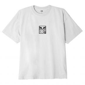 OBEY EYES ICON III CLASSIC T-SHIRT 165262712-WHITE