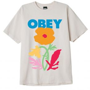 OBEY NO FUTURE FOR APATHY HEAVYWEIGHT CLASSIC BOX T-SHIRT 166912594-SAGO
