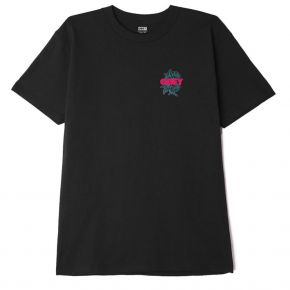 OBEY OBEY BLOOD AND ROSES CLASSIC T-SHIRT 165262554-BLACK