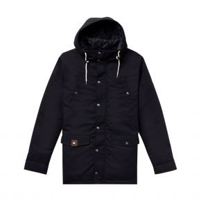 REVOLUTION 7246 PARKA CAPUCHE BOUTON PRESSION 7246-BLACK