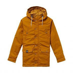 REVOLUTION 7246 PARKA CAPUCHE BOUTON PRESSION 7246-ORANGE