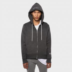SWEET PANTS ZIP UP HOOD BLACK MARL SWEET-PANTS-ZIP-UP-HOOD-BLACK-MARL