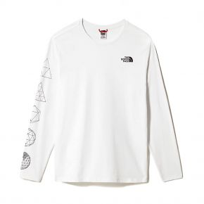 THE NORTH FACE M L/S GEODOME TEE NF0A4SYMFN4