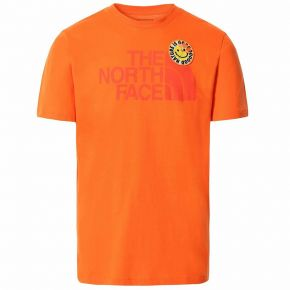 THE NORTH FACE M S/S PATCHES TEE NF0A532UV3Q1