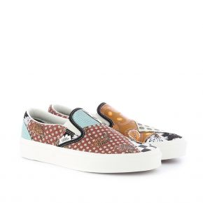 VANS CLASSIC SLIP-ON TIGER PATCHWORK VN0A4U381IO